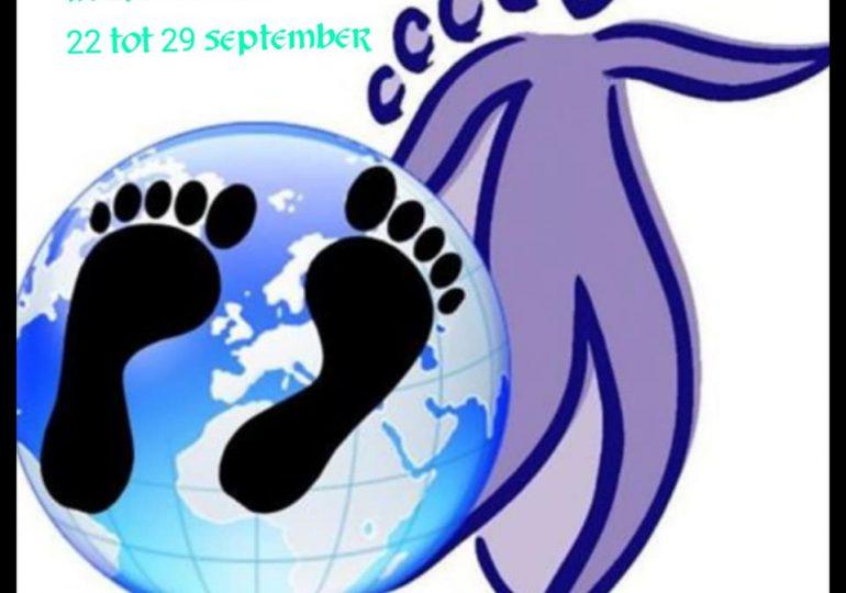 Wereld week van de voetreflex